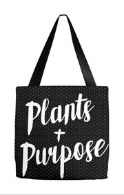 Tote Bag 9x9 inch Plants & Purpose Tote Bag