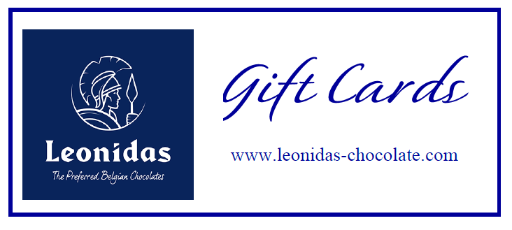 Leonidas Chocolates Gift Cards