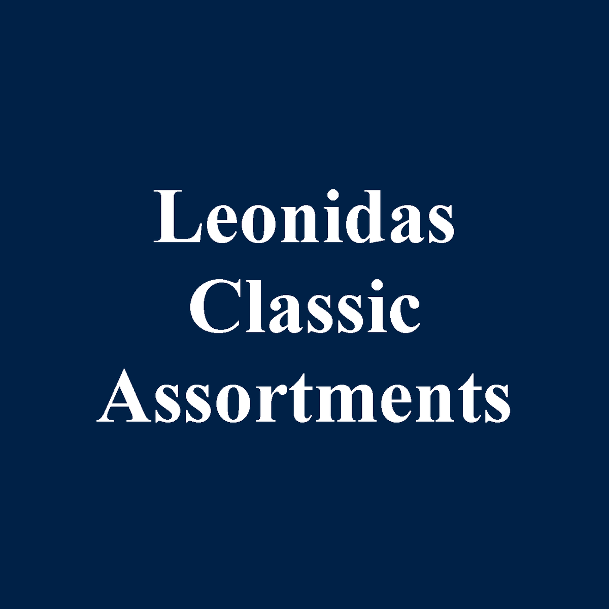 Leonidas Belgian Chocolate Classic Assortments