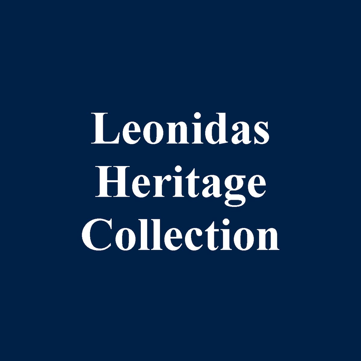 Leonidas Belgian Chocolates - Heritage Collection Gift Boxes