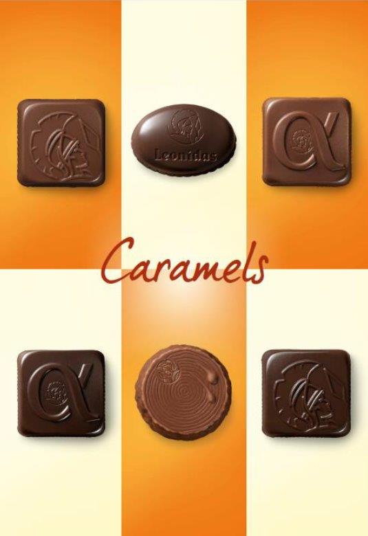Leonidas Chocolates limited edition Caramel