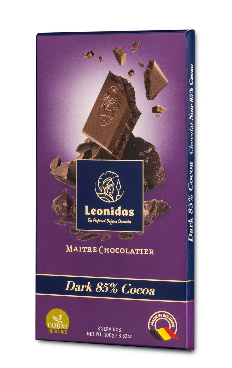Leonidas Chocolate, Dark chocolate bar, Leonidas dark chocolate, leonidas chocolates, dark bar