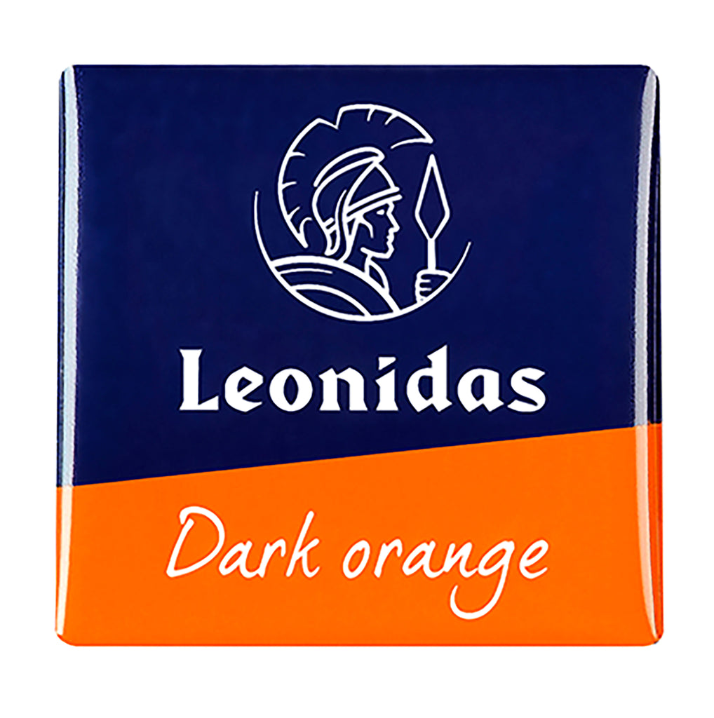 Leonidas Dark Chocolate Orange flavored Napolitain - Gluten Free