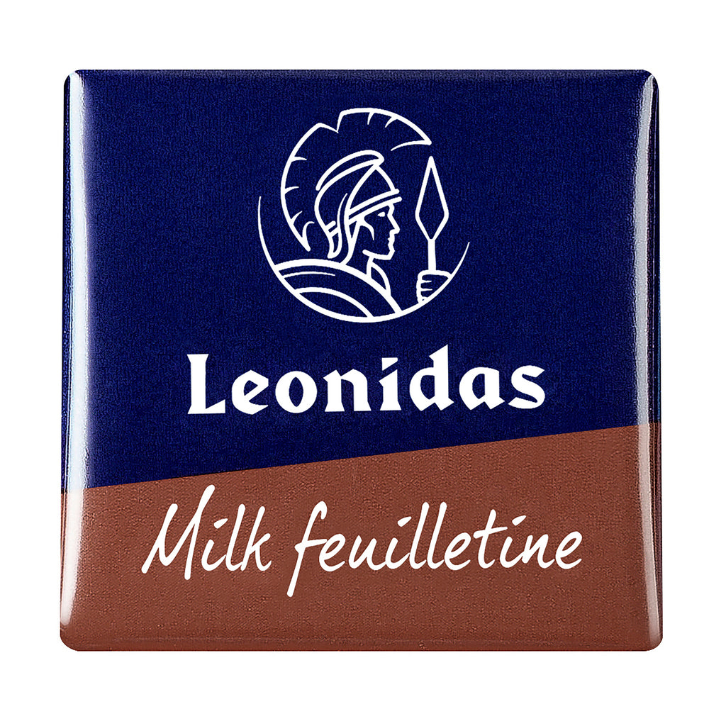 Leonidas Belgian Chocolates - Milk Chocolate Napolitain with Feuilletine
