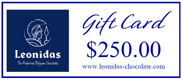 Leonidas Chocolates Gift Card