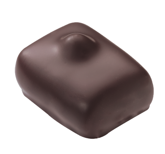 Leonidas Belgian Chocolates Manon Cafe covered in dark chocolate