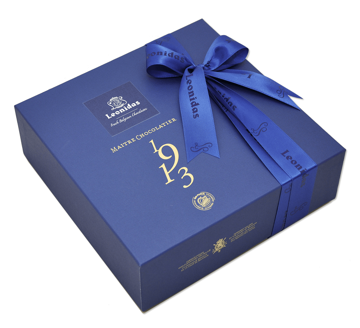 Large Blue Heritage Gift Box - Assorted Chocolates
