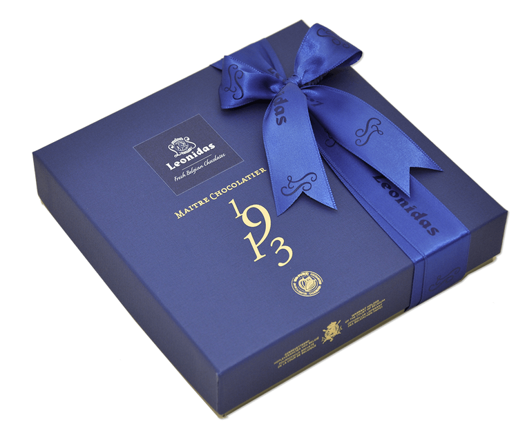 Small Blue Heritage Gift Box - Assorted Chocolates