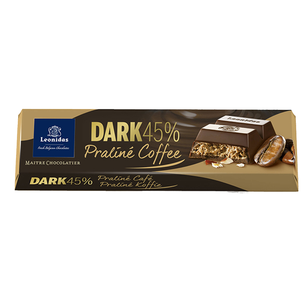 Batons Dark Chocolate (45%) Praline Coffee (6 x 50g)