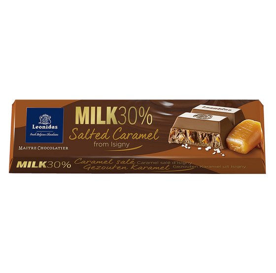 Batons Milk Chocolate (30%) Salted Caramel (6 x 50g)