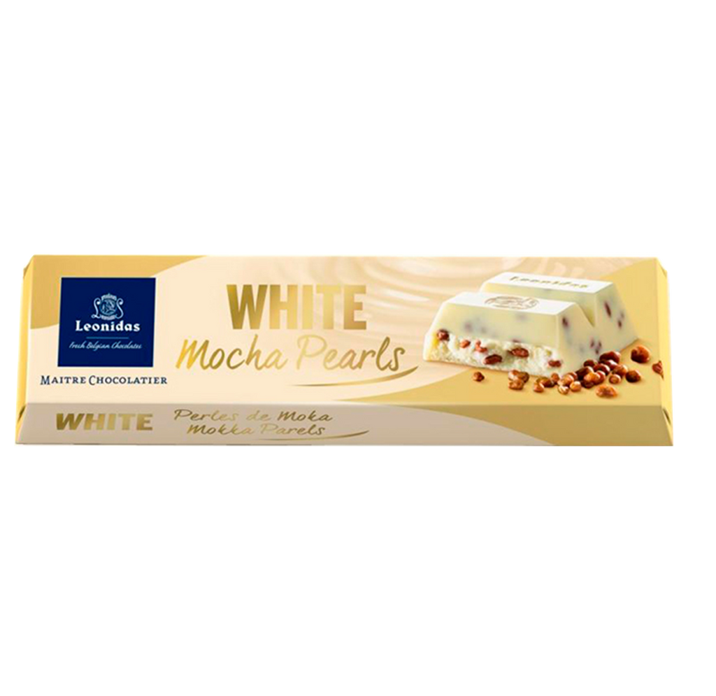 Batons White Chocolate Mocha Pearls (6 x 50g)