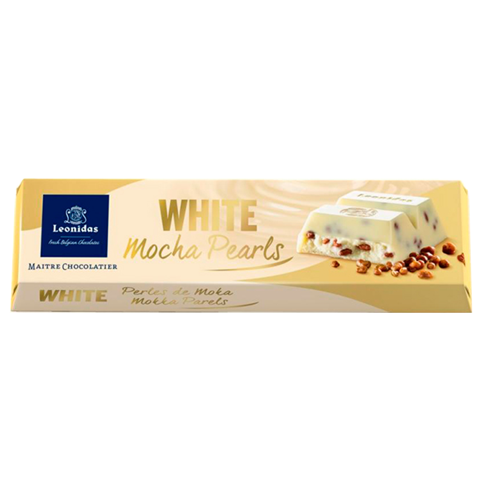Batons White Chocolate Mocha Pearls Pack (6 x 50g)