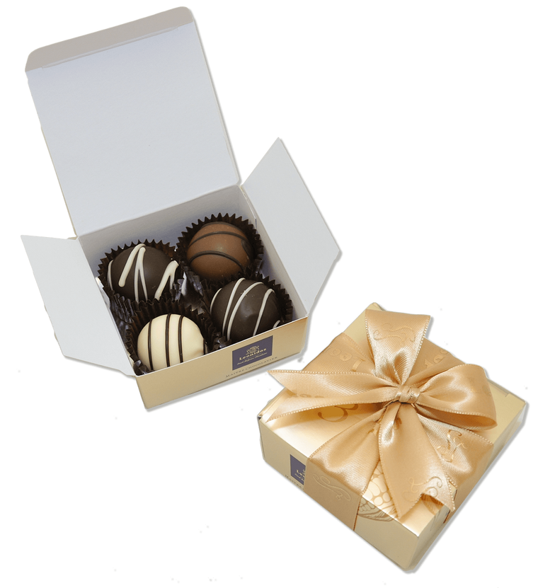 Leonidas chocolate party favors mini boxes four-pieces