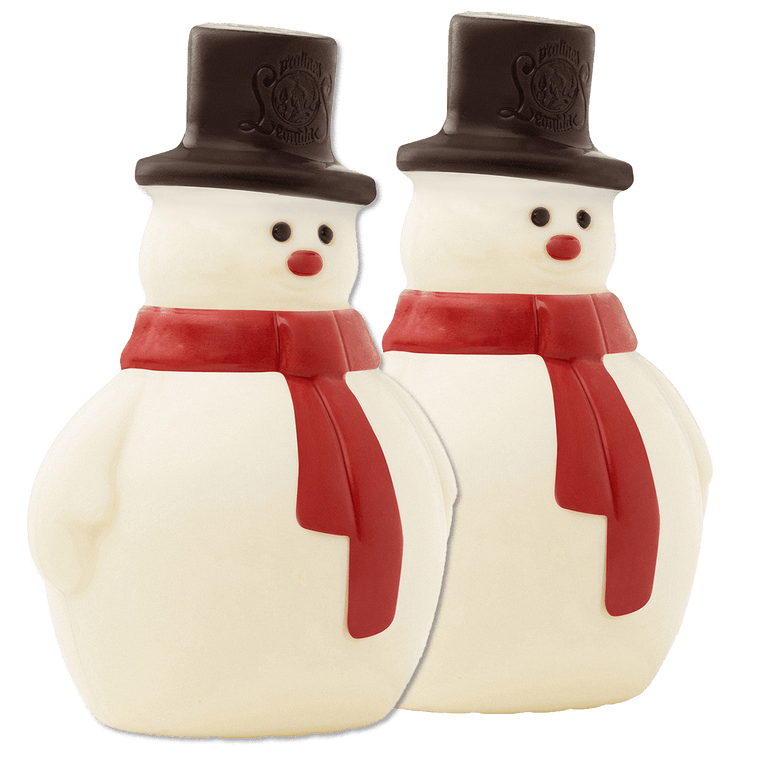 Leonidas Chocolate Snowmen 100gr - Set of 2