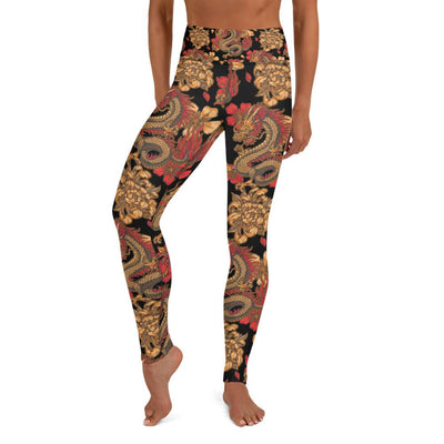 Land-To-Sea Yoga Leggings