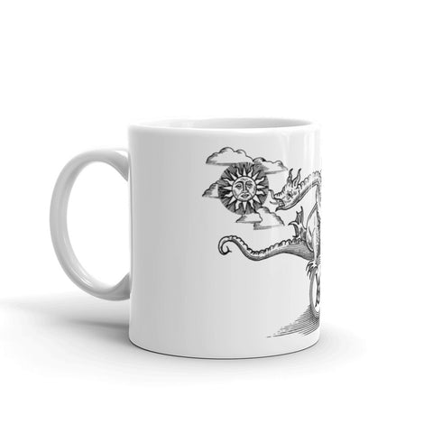 Double Dragon Mug