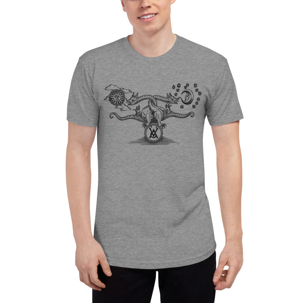 Double Dragon T-shirt, Black Ink