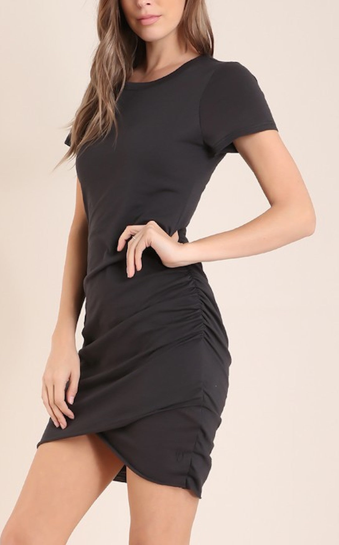 RUCHED TERRA DRESS
