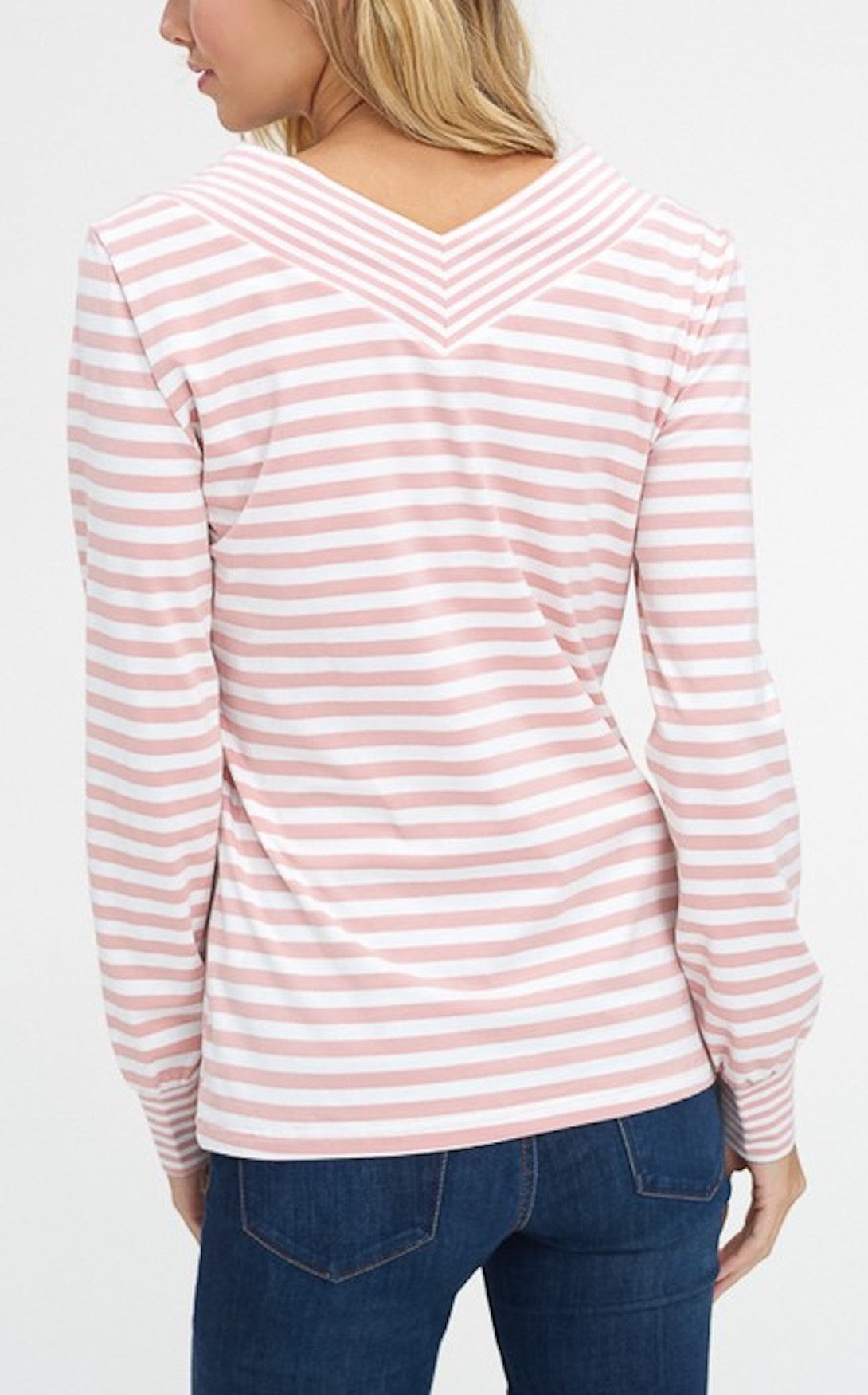 EVERYDAY STRIPE - BLUSH