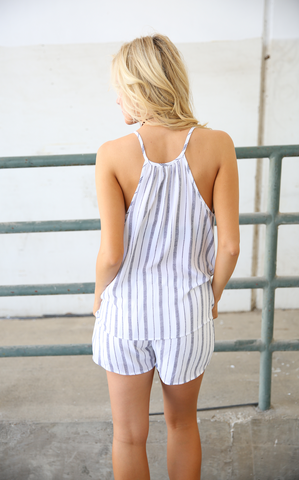 Whitney Striped Short
