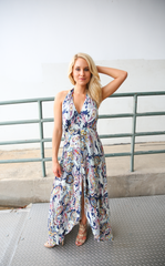 MAXI PLAYSUIT - PAISLEY