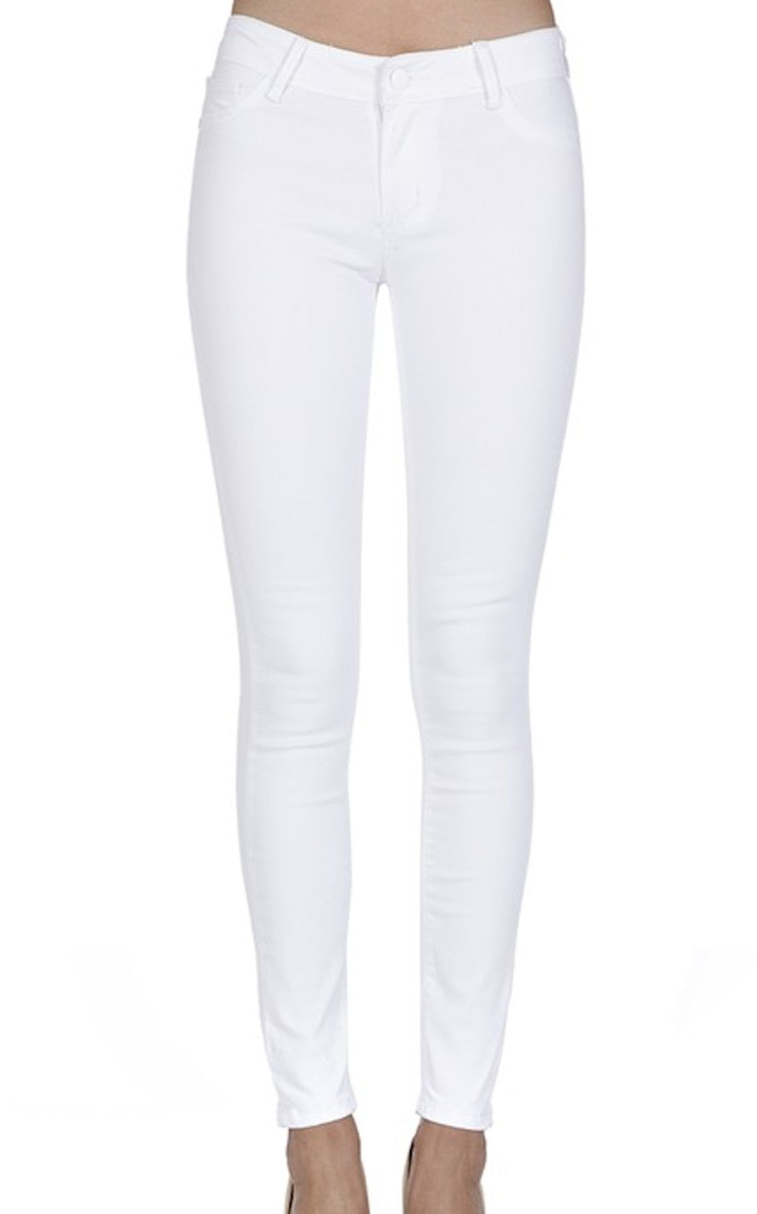 GO-TO SKINNIES - WHITE