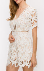 KENNEDY CROCHET LACE ROMPER