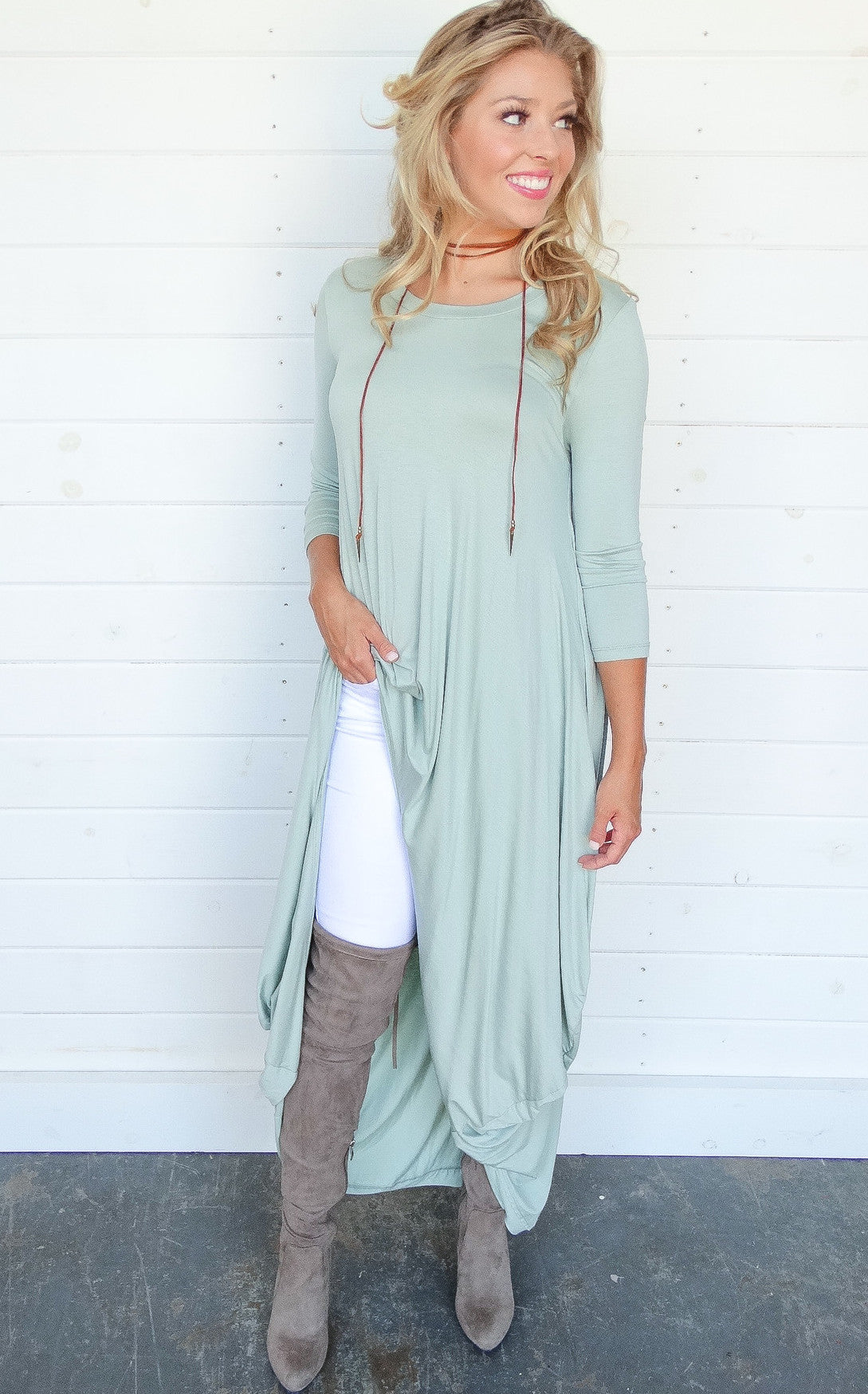 CARRISON TUNIC - MINT