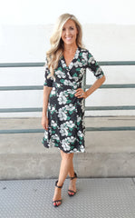 JENNIFER WRAP DRESS