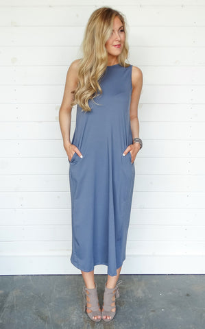 SCOOP BACK MIDI