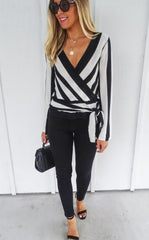 SEYMOUR STRIPE TOP