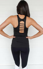 ATHLETIC LADDER BACK TOP
