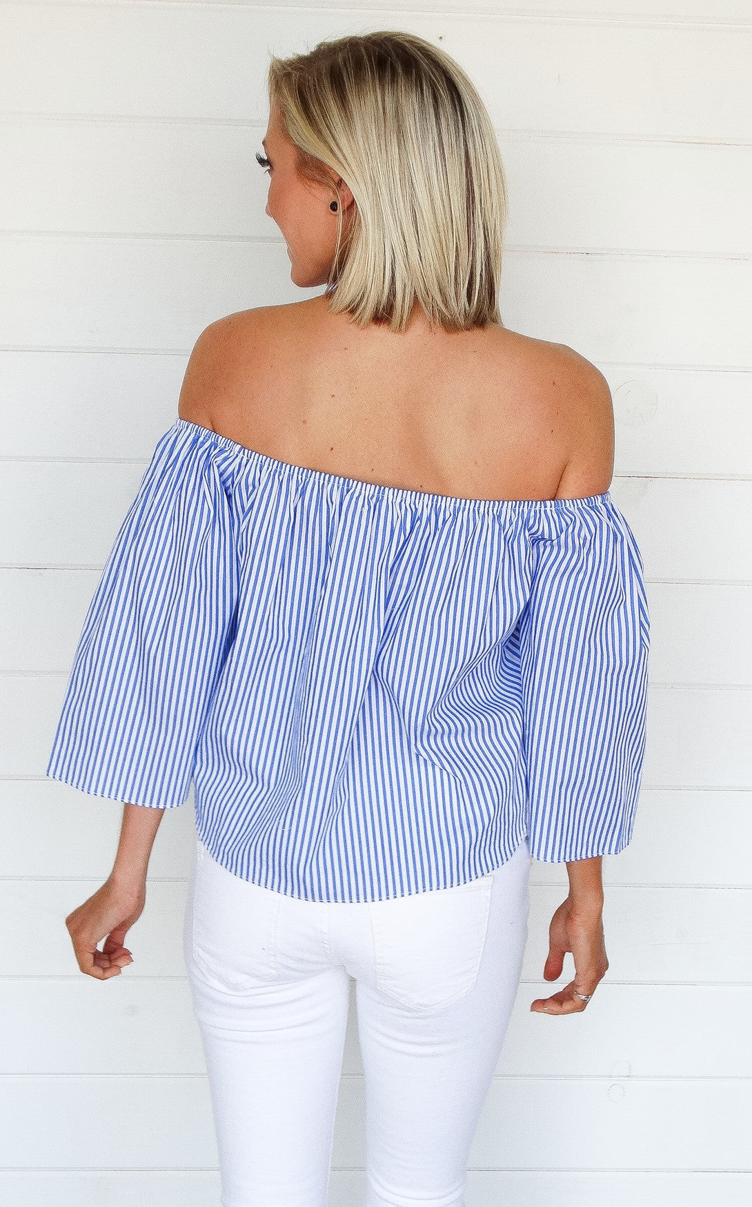 RIO OFF THE SHOULDER - ROYAL