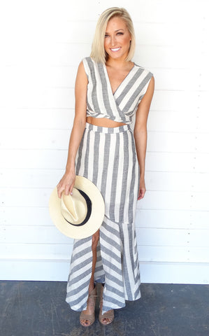 DEL MAR STRIPE DRESS