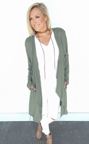 DRAPED TRENCH