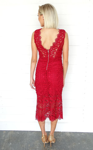 DIANA LACE DRESS
