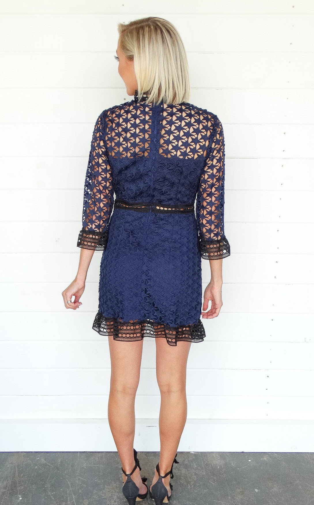 STAR LACE DRESS