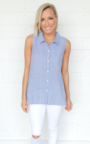 MORGAN BUTTON DOWN