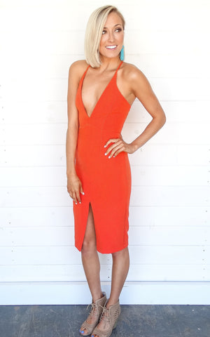 SEVILLA DRESS - CORAL