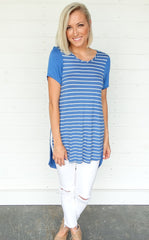 EASY STRIPED TEE