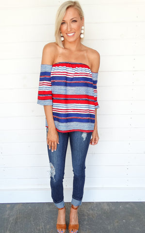 HARBOR STRIPED TOP