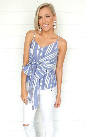 MAGGIE STRIPED TOP