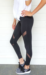 MONO LEGGINGS - MESH