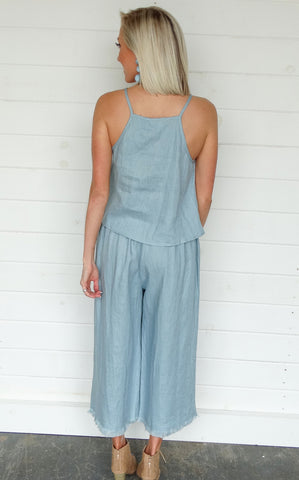 LINEN TWO PIECE SET