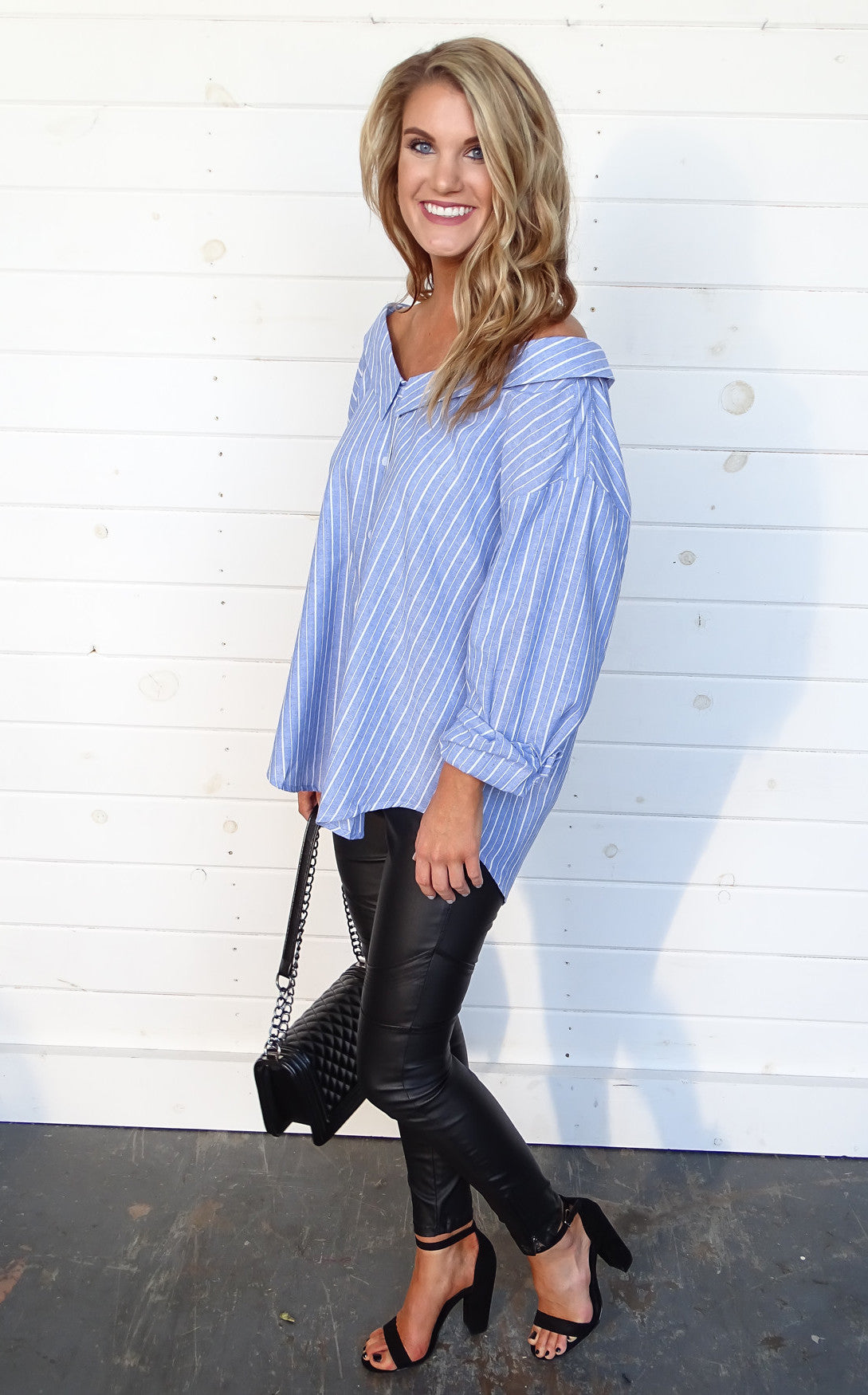 JONES STRIPED TUNIC