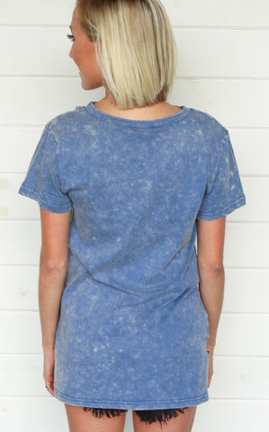 COBAIN TOP - DENIM