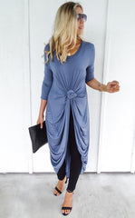 CARRISON TUNIC - CHAMBRAY