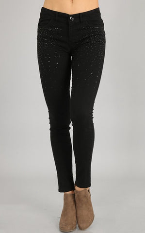 TOUCH OF SPARKLE SKINNIES