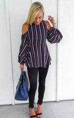 ASTORIA STRIPED TOP