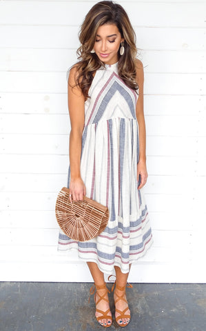 MAYLA STRIPE DRESS